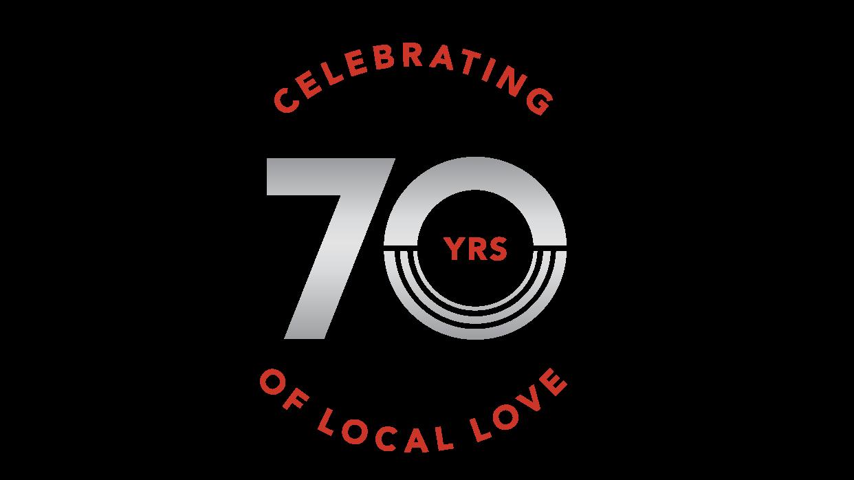 70th Anniversary Campaign Donation