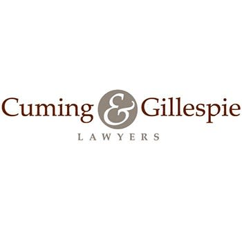 Auction Sponsored by Cuming & Gillespie Lawyers logo